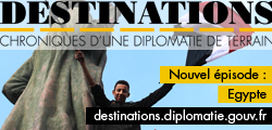 Banniere destination Egypte MAEE