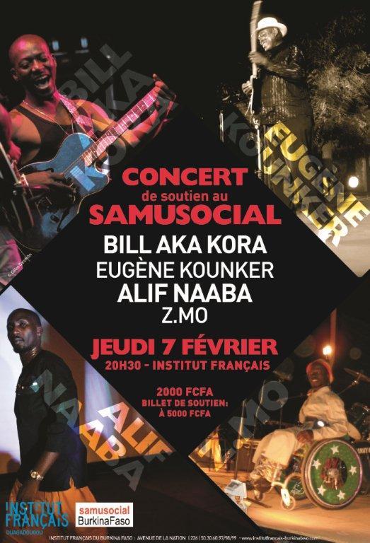 Affiche concert SSBF 7 février 2013